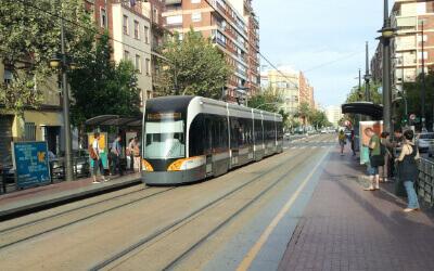 benimaclet tram station